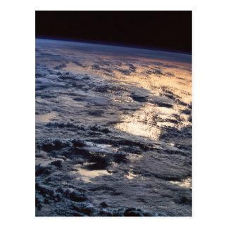 Carte Postale La terre vue d'un satellite