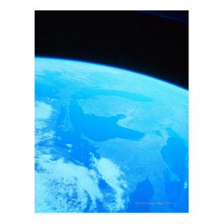 Carte Postale La terre vue d'un satellite 2