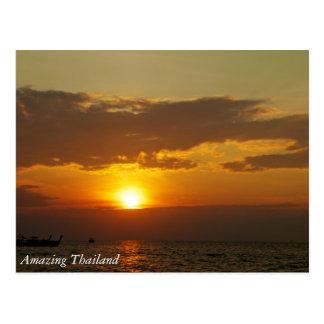 Carte Postale La Thaïlande stupéfiante