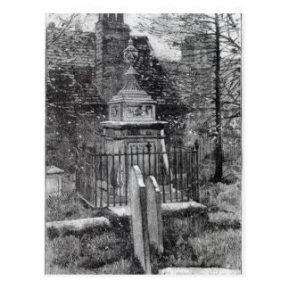 Carte Postale La tombe de Hogarth dans la cimetière de Chiswick