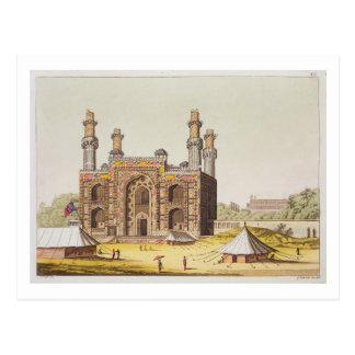Carte Postale La tombe de l'empereur Akbar de Mughal, de 'Le Cos
