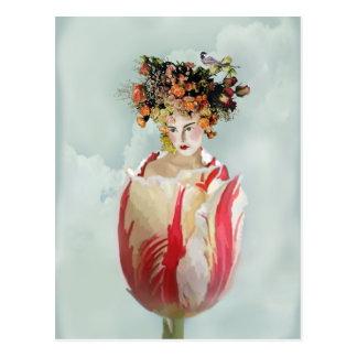 Carte Postale La Tulipe