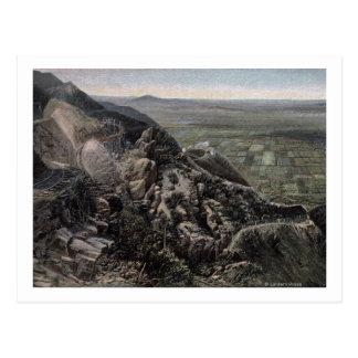 Carte Postale La vallée du Mountain View