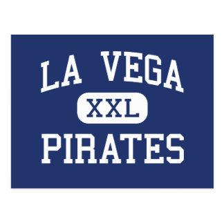 Carte Postale La Vega - pirates - lycée - Waco le Texas