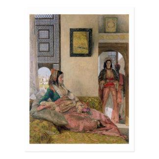Carte Postale La vie dans le harem, le Caire