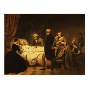 Carte Postale La vie de George Washington la mort chrétienne