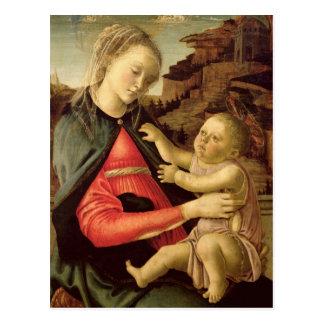 Carte Postale La Vierge et l'enfant c.1465-70