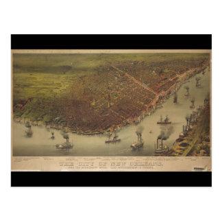 Carte Postale La ville de la Nouvelle-Orléans Louisiane à partir