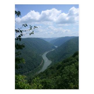 Carte Postale La Virginie Occidentale