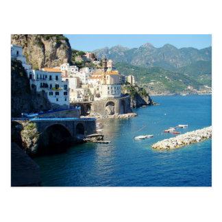 Carte Postale La vue d'Amalfi