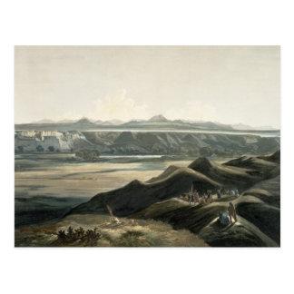 Carte Postale La vue des montagnes rocheuses, plaquent 44 du