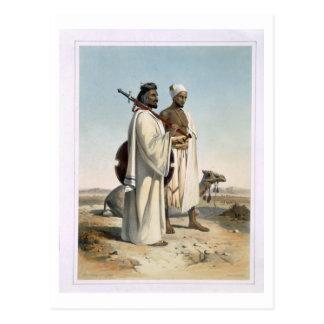 Carte Postale L'Ababda, nomades du désert oriental de Thebaid,