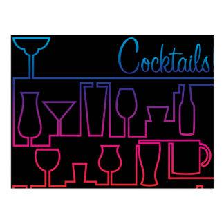 Carte Postale Labyrinthe de cocktail