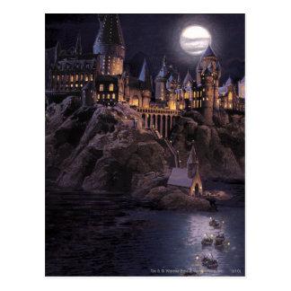 Carte Postale Lac castle   de Harry Potter grand à Hogwarts