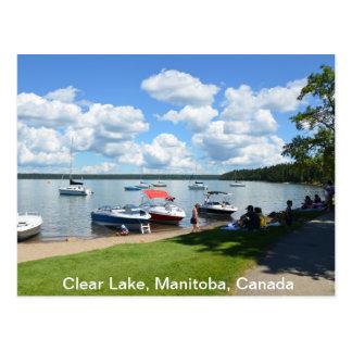 Carte Postale Lac clair, parc national, Manitoba, Canada