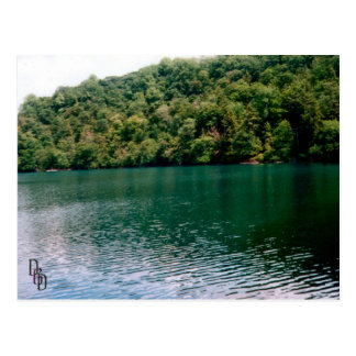 Carte Postale Lac hillside