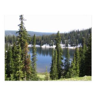 Carte Postale Lac mountain