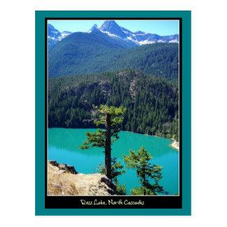 Carte Postale Lac Ross sur les cascades du nord, Washington