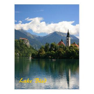 Carte Postale Lac saigné