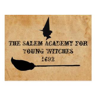 Carte Postale L'académie de Salem pour de jeunes sorcières
