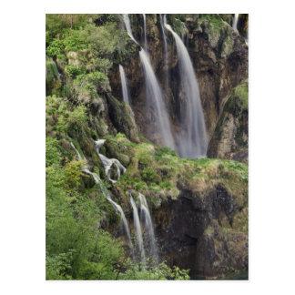 Carte Postale Lacs Plitvice de claque de Veliki (cascade)