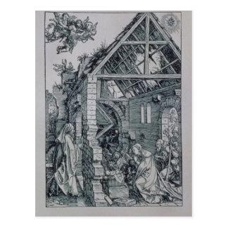 Carte Postale L'adoration des bergers