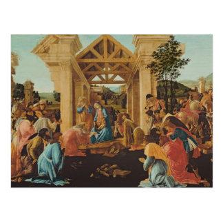 Carte Postale L'adoration des Magi, c.1478-82