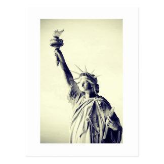 Carte Postale Lady Liberty - New York Ville