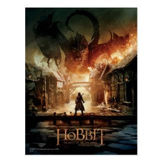 Carte Postale L'affiche de film de Hobbit - de Laketown