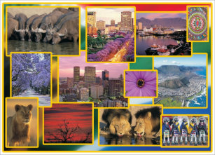Carte Postale Afrique Du Sud.Cartes Postales Afrique Du Sud Originales Zazzle Be