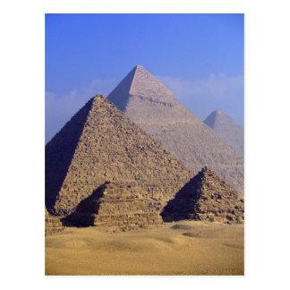 Carte Postale L'Afrique, Egypte, le Caire, Gizeh. Grandes