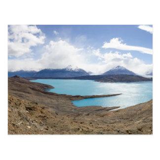 Carte Postale Lago Guillermo et glacier d'Upsala