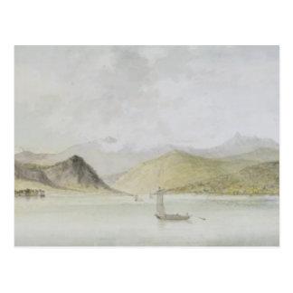Carte Postale Lago Maggiore (la semaine, stylo, encre et
