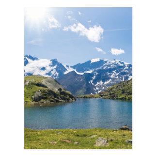 Carte Postale Lago Nero, Trentino, Italie