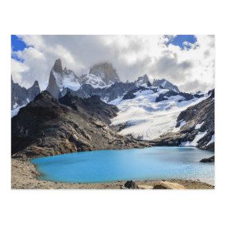 Carte Postale Laguna De Los Tres, parc national de visibilité