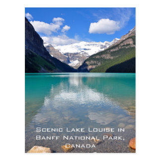 Carte Postale Lake Louise en parc national de Banff