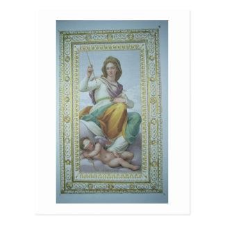 Carte Postale L'allégorie de la chasteté (fresque)