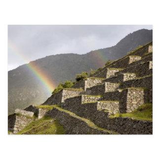 Carte Postale L'Amérique du Sud, Pérou, Machu Picchu.