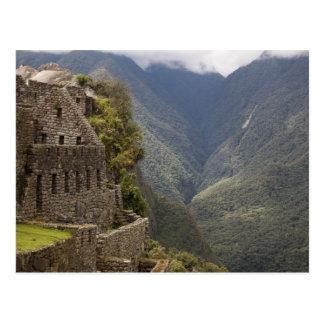 Carte Postale L'Amérique du Sud, Pérou, Machu Picchu. Ruines de