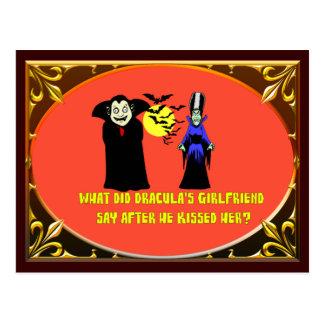 Carte Postale L'amie de Dracula