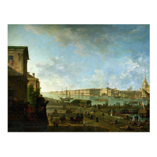 Carte Postale L'Amirauté et le palais d'hiver