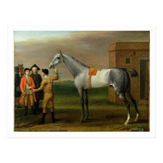 Carte Postale Lamproie, avec son propriétaire, monsieur William
