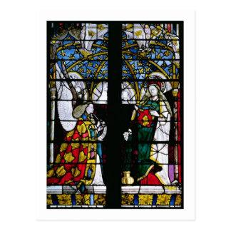 Carte Postale L'annonce, de la chapelle de Jacques Coeur