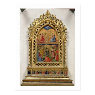 Carte Postale L'annonce et l'adoration des Magi (te