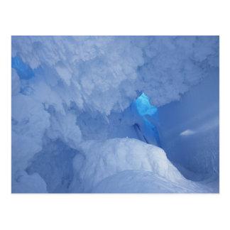Carte Postale L'Antarctique, île de Ross, cap Evans, caverne de