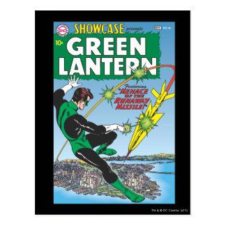 Carte Postale Lanterne verte - missile d'emballement