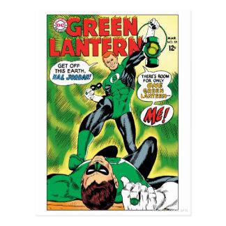 Carte Postale Lanterne verte - obtenez outre de cet Earch Hal