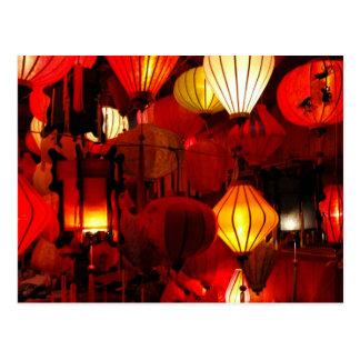 Carte Postale lanternes