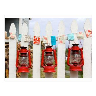 Carte Postale Lanternes d'été
