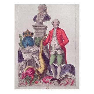Carte Postale L'appel de Jacques Necker le 16 juillet 1789